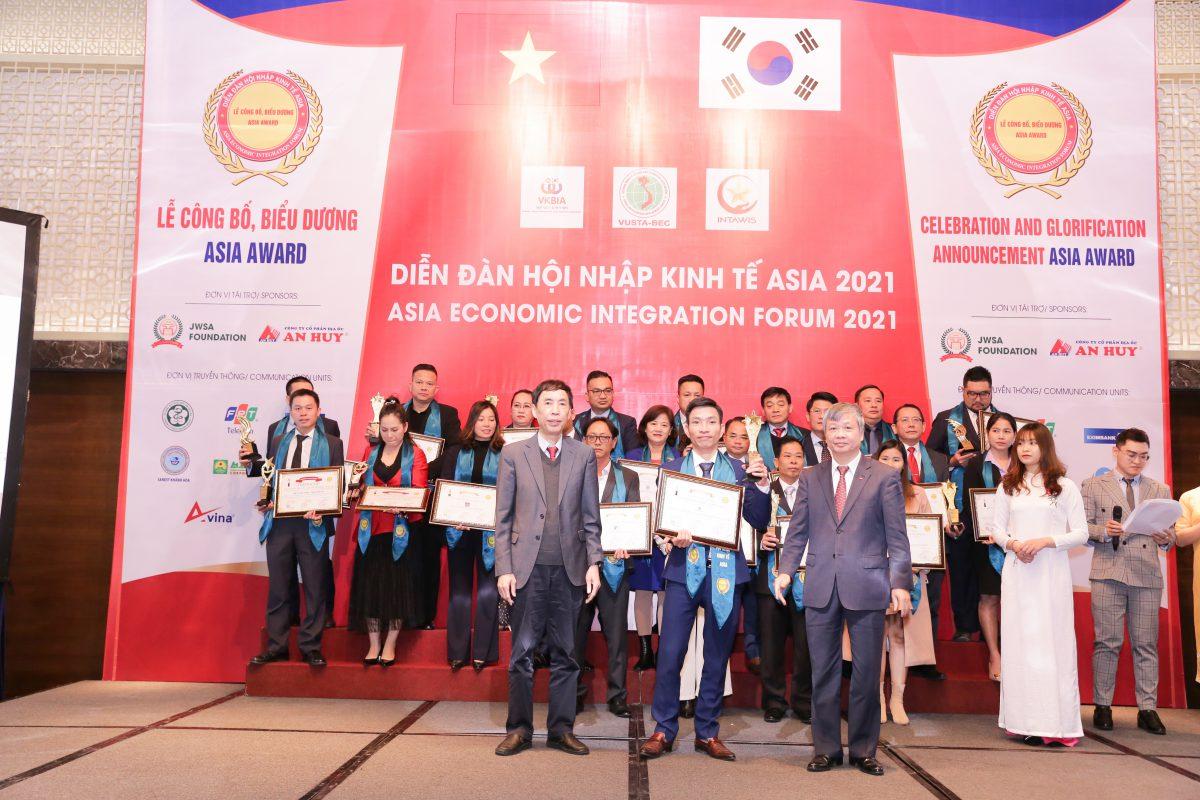 Top 100 Asia Award